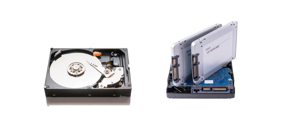 Disco duro HDD vs SSD